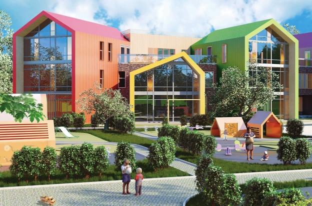 Проекты детских садов