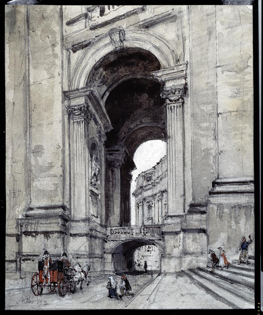 Архитектурный рисунок, Александр Бенуа