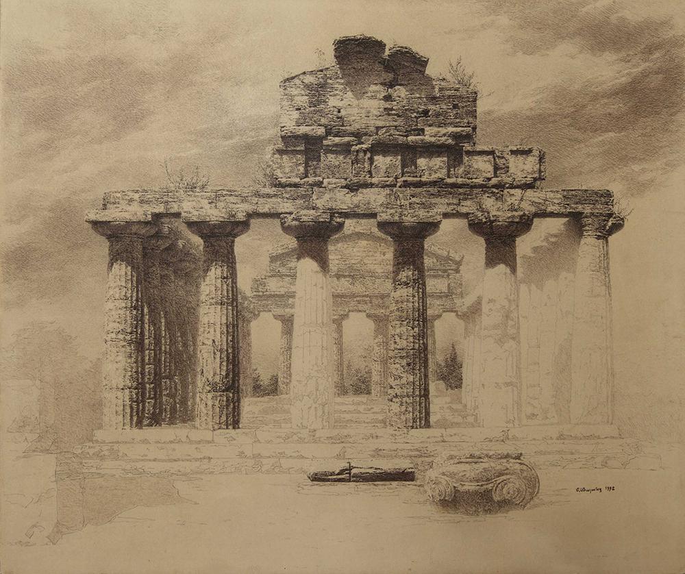 Архитектурный рисунок, Максим Атаянц