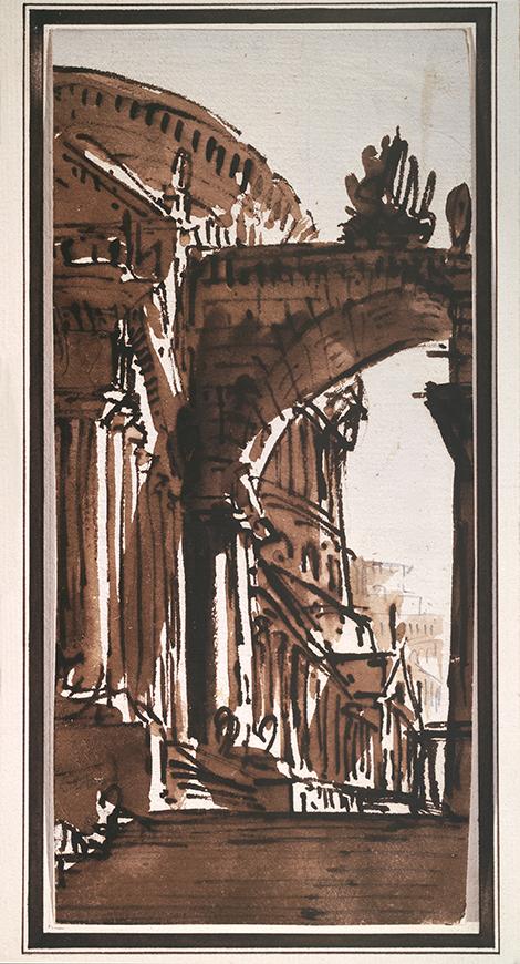 Архитектурный рисунок, Пьетро ди Готтардо Гонзага