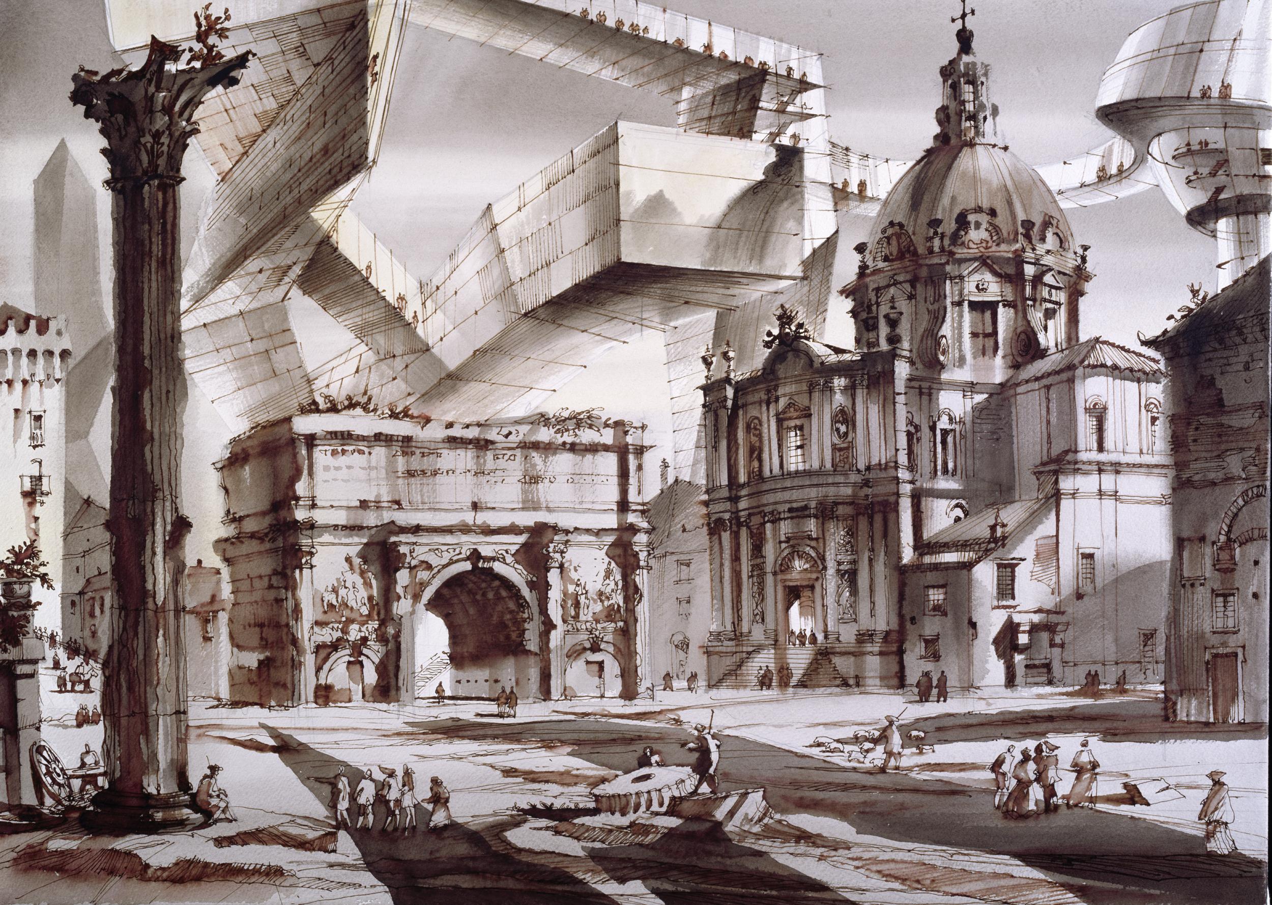 Архитектурный рисунок, Сергей Чобан