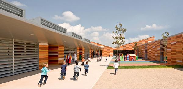 Детский сад, Испания, 2011, Magen Arquitectos