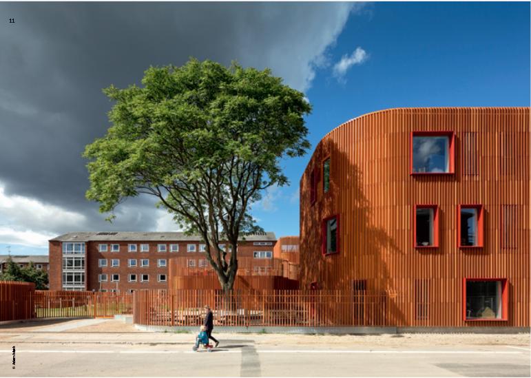 Детский сад, Копенгаген. COBE
